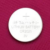 Batteria di litio della batteria della vigilanza Cr2025 3V