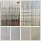 Cortina decorativa da tela do poliéster das cortinas da gaze da seleção do indicador de Tulle