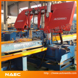 Band Saw를 가진 강철 Pipe Cutting Machine