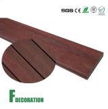 O plástico de madeira composto recicl WPC Waterproof o assoalho ao ar livre do Decking