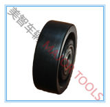 Piccoli formati della rotella solida della macchina per colata continua della mobilia del pneumatico della plastica pp