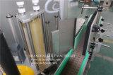 Frascos autos del vidrio de la longitud 1800m m del transportador alrededor del surtidor de la máquina de etiquetado