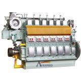 Motor diesel corriente confiable del vaso de la velocidad media de Avespeed N6210 441kw-1103kw