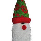 Ornamento de suspensão da boneca de Santa para as árvores de Natal ou as decorações no estoque, 3 Ass. do Natal