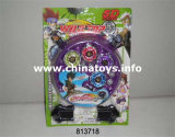 Metal Toy Alloy Musical Flashing Light Top Top Toy (813721)