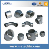 Ajustage de précision de pipe malléable fait sur commande de moulage au sable de fer de bonne qualité de fonderie
