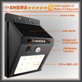 12 SMD LED 의 희미한 빛을%s 가진 태양 운동 측정기 빛