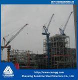 Estructura de acero de la central eléctrica