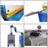 Máquina que pela del CNC de la guillotina de la viga hidráulica del oscilación (QC12K-4X2500)