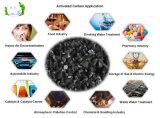 5*10, Kokosnuss-Shell betätigter Kohlenstoff des Ineinander greifen-6*12 für Goldraffinerie