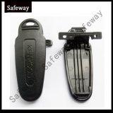 Clip ceinture par radio bi-directionnel de batterie pour Kenwood