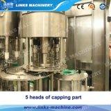 Máquina que capsula de relleno del líquido automático de la botella