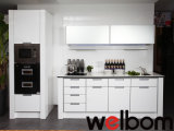 Welbom White 2015 Gloss Custom - Kitchen construído Cabinets