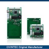 13.56MHz ISO7816 접촉 Sam 끼워넣어진 슬롯을%s 가진 장거리 RFID 독자 모듈