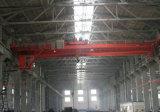 pont roulant de poutre de double de grue de passerelle de bride de fixation de QD 32/5ton avec les machines de levage d'élévateur électrique pour l'atelier