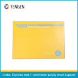 Logistischer Paket-Pappumschlag für das Dokumenten-Packen
