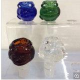 De hete Verkopende Rokende Toebehoren die van de Pijp van het Glas van het Ontwerp de Kom van het Glas roken