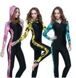 Солнцезащитный крем Lycra костюм Swimwear длинней втулки повелительницы &Diving