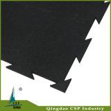 Couvre-tapis en caoutchouc de Ruber de couplage d'étage de forme physique de résistance d'incendie