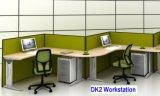 Tabelas modernas do escritório do metal & da madeira