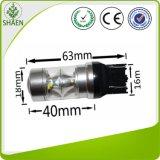 Doppio indicatore luminoso di freno del CREE 60W 3157 LED di colore