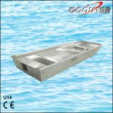 2.0mm 간격 U 유형 알루미늄 배 편평한 바닥