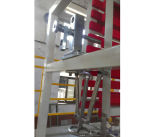 Macchina di salto capa Chsj del film di materia plastica di /LDPE dell'HDPE doppia--2A 55/60/65