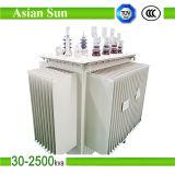 1250kVA 6.3kvのオイルによって浸される電力配分の変圧器の価格
