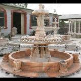 Fontana rossa Mf-154 di Ny della fontana della pietra della fontana della fontana di marmo del granito