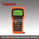 Portable ultrasonico dell'acqua di mare dell'olio dell'acqua di fiume del flussometro