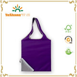 Personalizzato per Free Give Away Polyester Material Recycled Folding Tote Bag