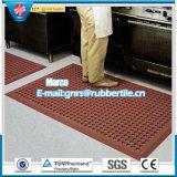 スリップ防止床のマットの反疲労のゴム製台所マットのスリップ防止ゴム製浴室のゴムマット