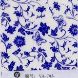 Película de mergulho Hydrographic da impressão de transferência da água do projeto da flor de Yingcai 0.5m