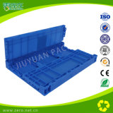 Blue Professional Nissan parts Folding plastic Crate