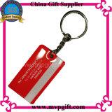 Edelstahl-Schlüsselkette mit Druck-Firmenzeichen