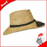 Chapéu de Panamá natural da palha do chapéu de Sun