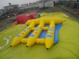 Agua Juguetes Inflables Vuela Barco Pescado para 6 Personas
