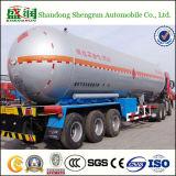 camion citerne de gaz de la semi-remorque 30t Lp de réservoir de 50m3 LPG