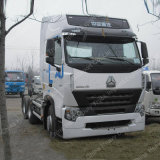 아프리카에서 에어 컨디셔너 최신 판매를 가진 6X4 380HP Sinotruk HOWO 트레일러 트럭