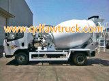 Caminhão cúbico do misturador concreto de FAW 3-16