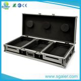 Casters를 가진 Holding 2 LCD 텔레비젼 Screens를 위한 Non-Slip Plywood Flight Case