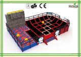 Kaiqi Trampoline for Physical Fitness and Children Amsuement no shopping center, playground indoor, parques temáticos