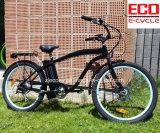 Strand-Fahrrad mit Lithium-Batterie für männliches elektrisches Fahrrad