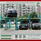 Twee-laag die Ruimte StereoGarage het Automatische Systeem van het Parkeren van de Auto het Slimme Systeem Van uitstekende kwaliteit bewaren van het Parkeren van de Auto