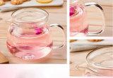 teiera di vetro termoresistente 500ml con il POT del tè di erbe del foglio del fiore del caffè di Infuser