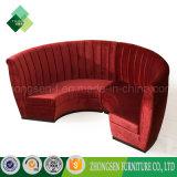 2017 متأخّر نمو أعلى تصميم قطاعيّ أريكة الصين أحمر أريكة