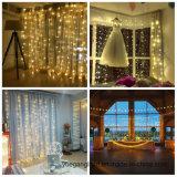 3*3mのクリスマスまたは党またはホーム装飾のための銅のカーテンストリングライト