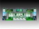 Переменчивая алюминиевая стойка будочки выставки