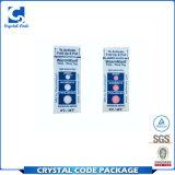 Escritura de la etiqueta adhesiva de la etiqueta engomada del indicador de la temperatura del PVC de la alta calidad