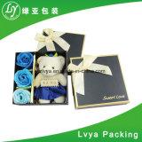 Роскошная коробка подарка картона бумаги коробки ювелирных изделий для упаковывать